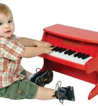 schoenhut wooden toy piano for babies