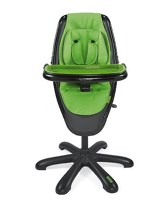 mamas and papas loop highchair black with green seat