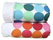 Minky Dots Blanket by quiltbaby