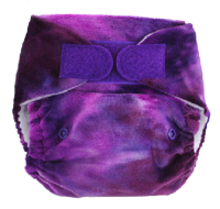 Blueberry Nappies One-Size Minky Pocket Nappy