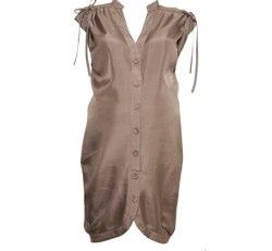 Maternity Silk Shirt Dress Topshop