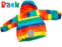 Molo 'Arctic' Rainbow Jacket - back
