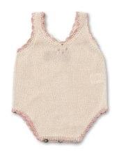 Vintage baby body, pima cotton