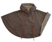Troizenfants Brown Girls Raincoat