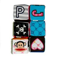 small paul by paul frank soft blocks