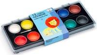 12 colour paints by djeco