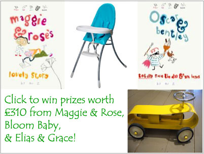 click to win £310 worth of prizes from Elias & Grace