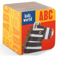 ABC Block Book Kids World by Crocodile Creek
