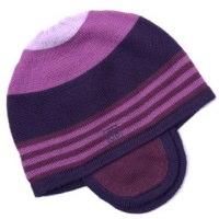 Berry Fuscia Striped Hat Bonnie Baby
