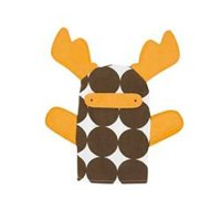 Moose Hand Puppet by DwellStudio