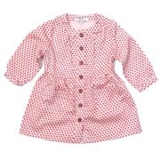 Pink Star Smock Dress by Clements Riberio for Blossom