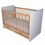Cot bed by Kuster in Oak