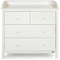 brio drawers with changer in white