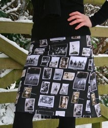 Ruby Photo Skirt Kit by Clothkits and Mini Moderns
