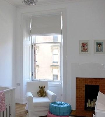 Room Tour: Orla's White Nursery