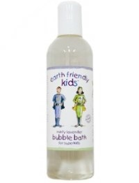 Earth Friendly Kids Minty Lavender Bubble Bath