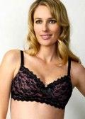 Silhouette Of A Secret lace 3/4 cup nursing bra