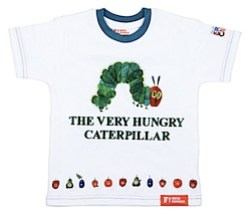 Fabric flavours Hungry Caterpillar t-shirt