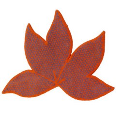 Kids' gun tufted leaf rug from habitat
