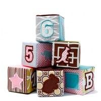 DwellStudio Baby Soft Blocks - Set of 6