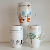 Shinzi Katoh cafe mugs