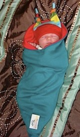 the swaddle pod by liberty slings