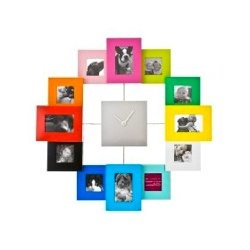 Cool Christening Gift: Present Time's Family Time Frame Clock