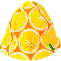 Lemons 'Sweet & Sour' summer hat by Plastisock Lemons 'Sweet & Sour' summer hat by Plastisock