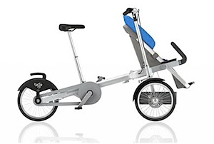 The Pushchair Track: Taga Bike Pram