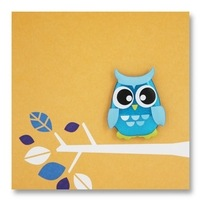 owl magnet card