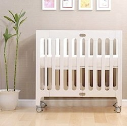 alma urban cot by bloom in coconut
