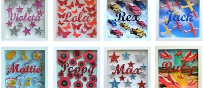 Cissy Cook Designs Name Boxes