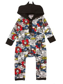 Mini Batman Babygrow by Topshop Mini