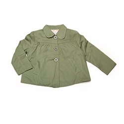 Olive Swing Jacket by Milibe Copehagen