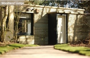 Holiday Lodge Accommodation woodland lodge