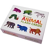 eric carle's animal flashcards