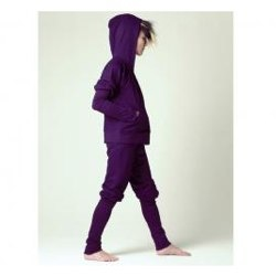 Dark Purple Track Suit Set by Shampoodle
