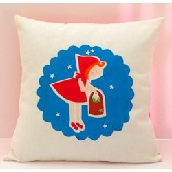 Pillow cover- Little Red Riding Hood
