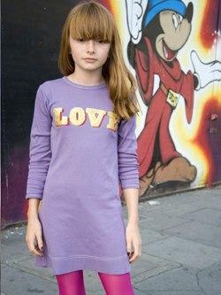 LOVE GLITTER DRESS love glitter dress by dandy star