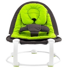BabaBing Lobo Reclining Bouncer, Lime