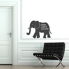 Elephant Chalkboard Sticker
