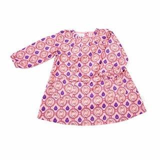 Gloria Pink Needle Cord Dress by Mini A Ture