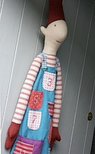 boy heirloom advent doll