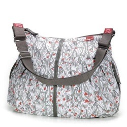 AMANDA BLOSSUM GREY babymel changing bag