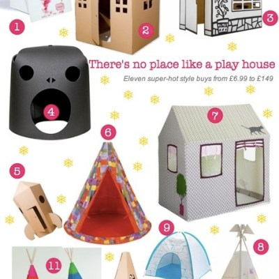 Bambino Goodies Christmas Gift Guide: Play houses for toddlers