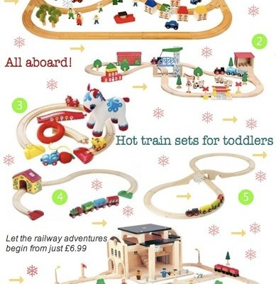 BG Christmas Gift Guide: Hot train sets for toddlers