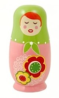 Russian Doll Ceramic Piggy Bank - Lena