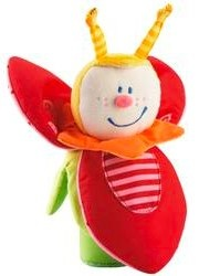 Beetle Anton Clutching Toy by Haba - red