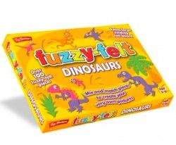 dinosaur fuzzy felt