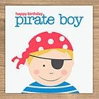 pirate boy card by showler and showler